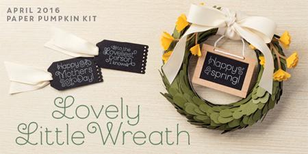 Lovely Little Wreath Paper Pumpkin Alternative Ideas created by Dawn Olchefske #dostamping #stampinup