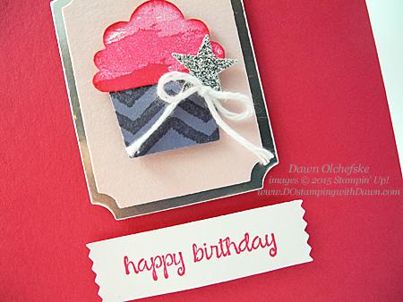 Cupcake Builder card by Dawn Olchefske #dostamping #stampinup