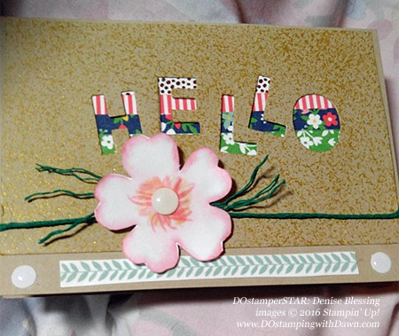 DOstamperSTARS Affectionately Yours cards shared by Dawn Olchefske #dostamping #stampinup (Denise Blessing)