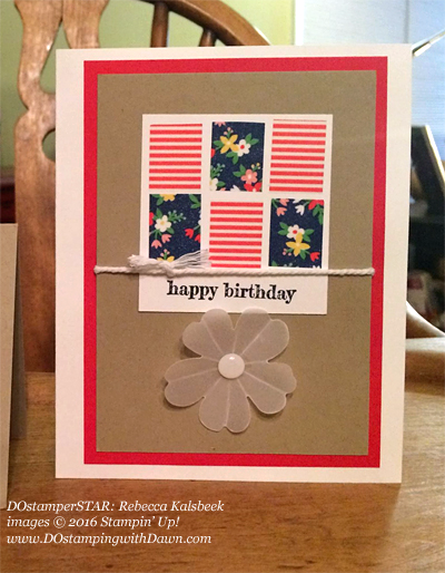 DOstamperSTARS Affectionately Yours cards shared by Dawn Olchefske #dostamping #stampinup (Rebecca Kalsbeek)
