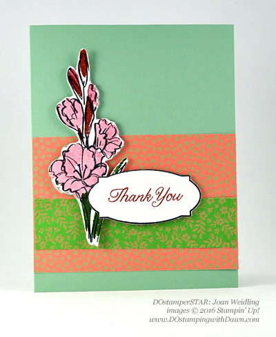 DOstamperSTARS New Catalog swap - Gift of Love shared by Dawn Olchefske #dostamping #stampinup (Joan Weidling)
