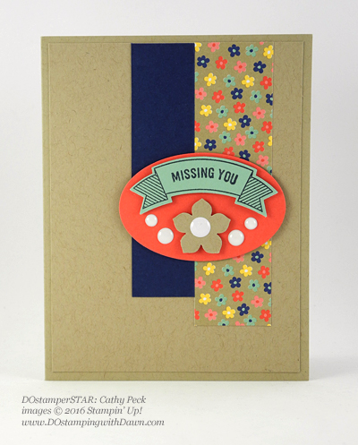 DOstamperSTARS New Catalog swap - Thoughtful Banners shared by Dawn Olchefske #dostamping #stampinup (Cathy Peck)