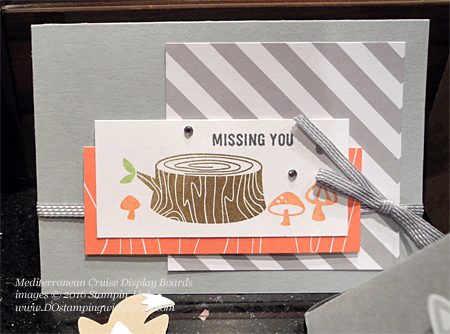 Foxy Friends Mediterranean Cruise Display Cards shared by Dawn Olchefske #dostamping #stampinup