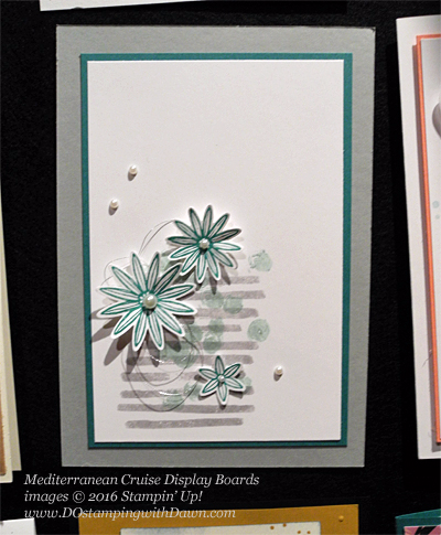 Grateful Bunch Mediterranean Cruise Display Cards shared by Dawn Olchefske #dostamping #stampinup