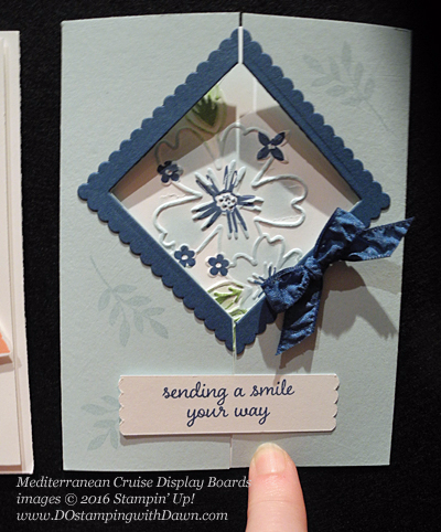 Floral Affection Mediterranean Cruise Display Cards shared by Dawn Olchefske #dostamping #stampinup