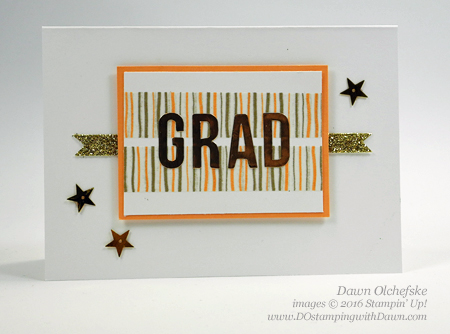 Alternative ideas for Banner Surprise Paper Pumpkin Kit for June 2016 created by Dawn Olchefske #dostamping #stampinup