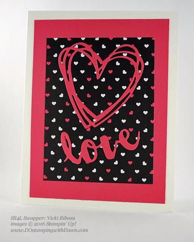 Sunshine Wishes Bundle swap cards shared by Dawn Olchefske #dostamping #stampinup (Vicky Bibeau)