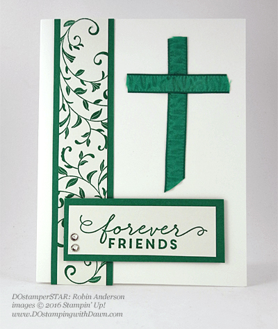 First Sight swap card shared by Dawn Olchefske #dostamping #stampinup (Robin Anderson)