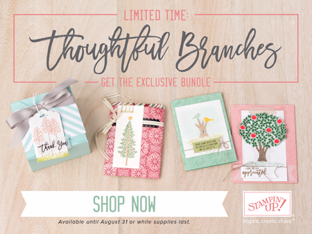 Thoughtful Branches Bundle by Stampin' Up! #dostamping