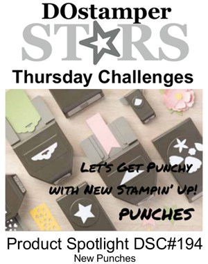 DOstamperSTARS Thursday Challenge #194-Product Spotlight