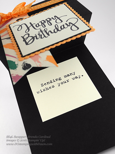 Stylized Birthday with Playful Palette DSP swap cards shared by Dawn Olchefske #dostamping #stampinup (Brenda Cardinal)