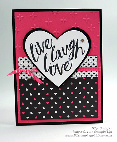Layering Love swap cards shared by Dawn Olchefske #dostamping #stampinup (