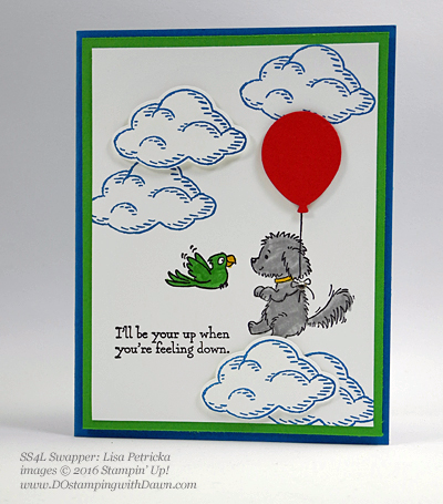 Bella & Friends swap cards shared by Dawn Olchefske #dostamping #stampinup (Lisa Petricka)