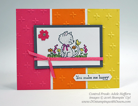 Pretty Kitty swap cards shared by Dawn Olchefske #dostamping #stampinup (Adele Heffern)