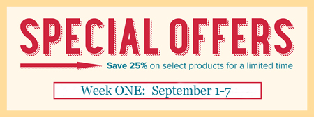 Stampin' Up! Special Offers Week1, September 1-7, Shop with Dawn Olchefske #dostamping