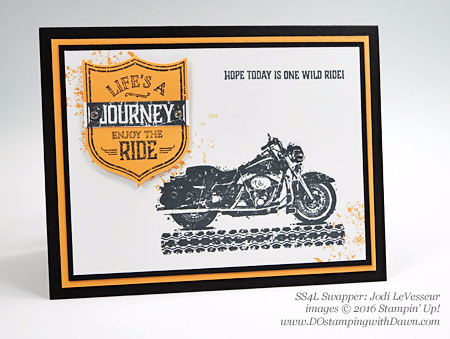 One Wild Ride swap cards shared by Dawn Olchefske #dostamping (Jodi LeVesseur)