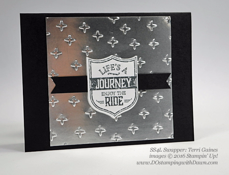 One Wild Ride swap cards shared by Dawn Olchefske #dostamping (Terri Gaines)