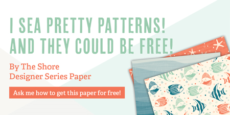 Stampin' Up! Designer Series Paper Buy 3, Get 1 Free sale #dostamping