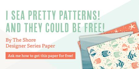 Stampin' Up! Designer Series Paper Buy 3, Get 1 Free sale #dostamping