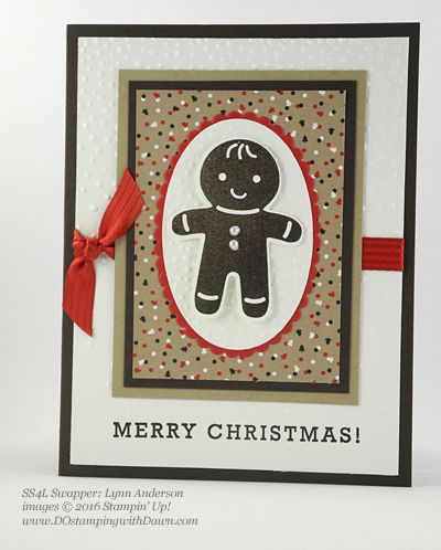 Stampin' Up! Candy Cane Lane swap cards shared by Dawn Olchefske #dostamping #stampinup (Lynn Anderson)