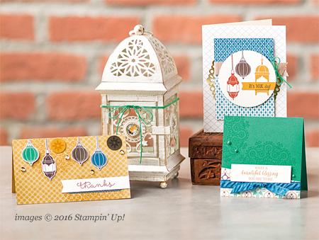 Stampin' Up! Moroccan Designer Series Paper #dostamping