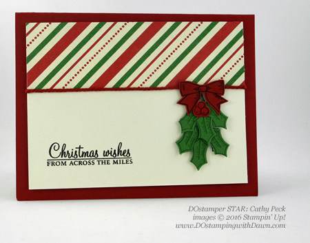 DOstamper STARS Holiday swaps shared by Dawn Olchefske #dostamping #stampinup (Cathy Peck)