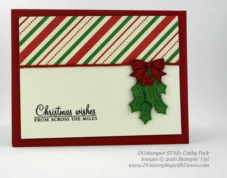 DOstamper STARS Holiday swaps shared by Dawn Olchefske #dostamping #stampinup (Cathy Peck)