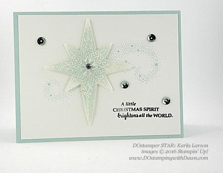 DOstamper STARS Holiday swaps shared by Dawn Olchefske #dostamping #stampinup (Karla Larson)
