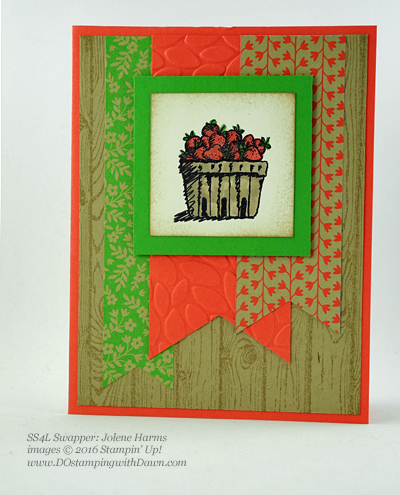 Stampin' Up! Fall-Themed swap cards shared by Dawn Olchefske #dostamping #stampinup (Jolene Harms)