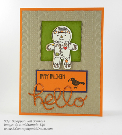 Stampin' Up! Fall-Themed swap cards shared by Dawn Olchefske #dostamping #stampinup (Jill Somrock)