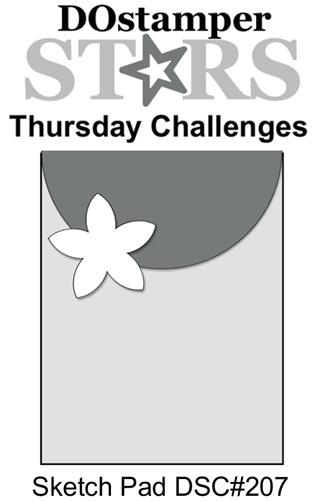 DOstamperSTARS Thursday Challenge #207-Sketch Pad