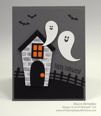Home Sweet Home Framelit Card created by Dawn Olchefske #dostamping