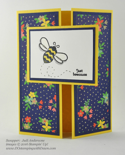 Affectionately Yours Swap card shared by Dawn Olchefske #dostamping (Judi Anderson)