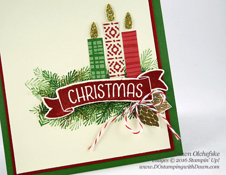 Stampin' Up! Peace This Christmas card created by Dawn Olchefske #dostamping