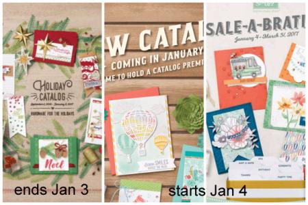 Stampin' Up! Catalog Transition Dates, Shop with Dawn Olchefske #dostamping