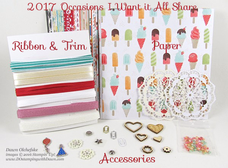 Stampin' Up! 2017 Occasions Catalog Product Share offered by Dawn Olchefske #dostamping