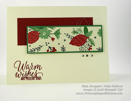 Tin of Tags swap card shared by Dawn Olchefske #dostamping (Anita Dickson)