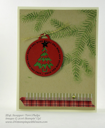 Merriest Wishes Bundle swap card shared by Dawn Olchefske #dostamping (Terri Phelps)
