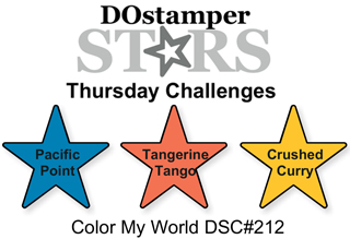 DOstamperSTARS Thursday Challenge #212-Color My World