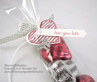 Stampin' Up Sealed With Love Candy Sleeve by Dawn Olchefske for Control Freaks Blog Tour #dostamping