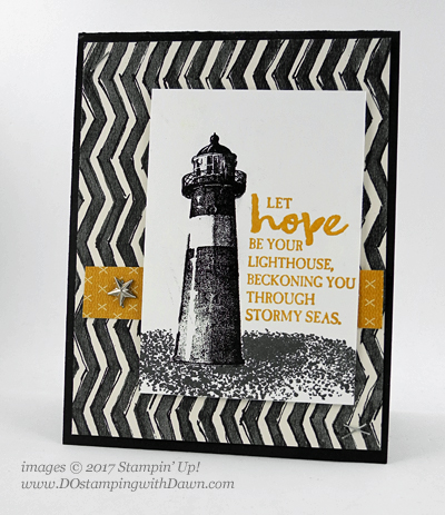 Stampin' Up! High Tide card shared by Dawn Olchefske #dostamping