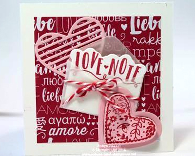 Valentine projects created by DOstamperSTARS #dostamping (Robyn Rasset)