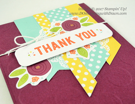 Stampin' Up! Sale-A-Bration FREE Pretty Pocket Card Kit Alternate Idea shared by Dawn Olchefske #dostamping