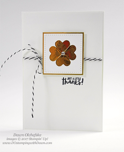 Stampin' Up! Paper Pumpkin Jan 2017 Kit Adoring Arrows shared by Dawn Olchefske #dostamping