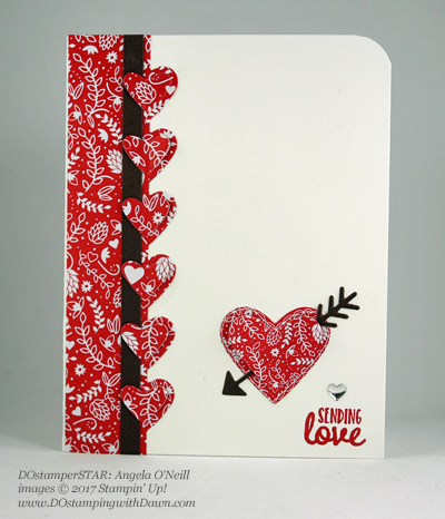 Stampin' Up! DOstamper STARS Friday Feature cards shared by Dawn Olchefske #dostamping (Angela O'Neil)l