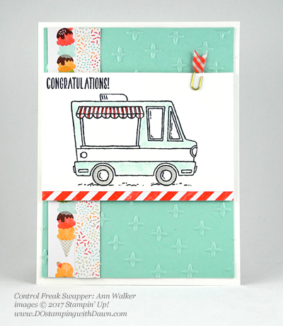 Stampin' Up! Sale-A-Bration Inspiration swap cards shared by Dawn Olchefske #dostamping (Ann Walker)