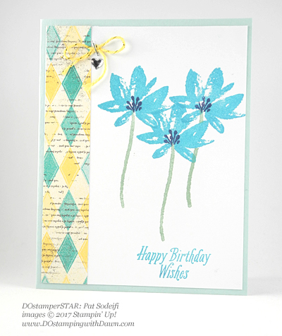 Stampin' Up! DOstamper STARS SAB Inspiration swap cards shared by Dawn Olchefske #dostamping (Pat Sodeifi)