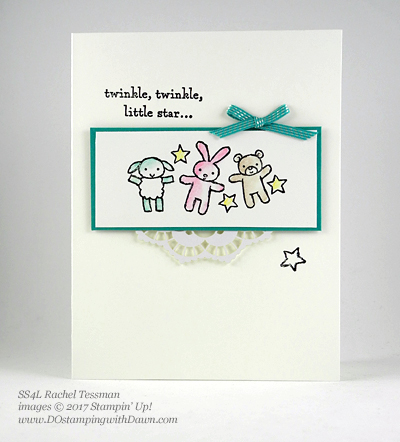 Stampin' Up! Watercolor Pencils swaps shared by Dawn Olchefske #dostamping (Rachel Tessman)