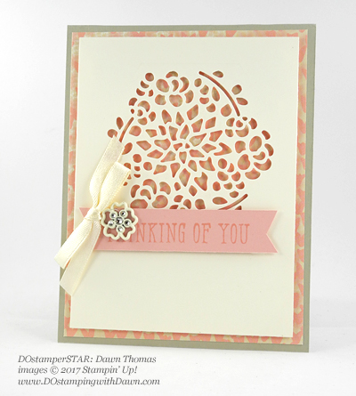 Stampin' Up! 2017 Occasions Catalog swap cards shared by Dawn Olchefske #dostamping (Dawn Thomas)
