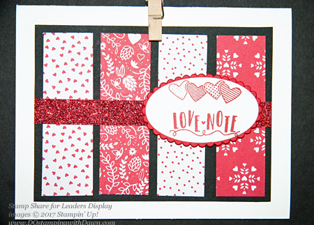 13 Stampin' Up! Valentine Themed Displays from Stamp Share For Leader Meeting shared by Dawn Olchefske #dostamping